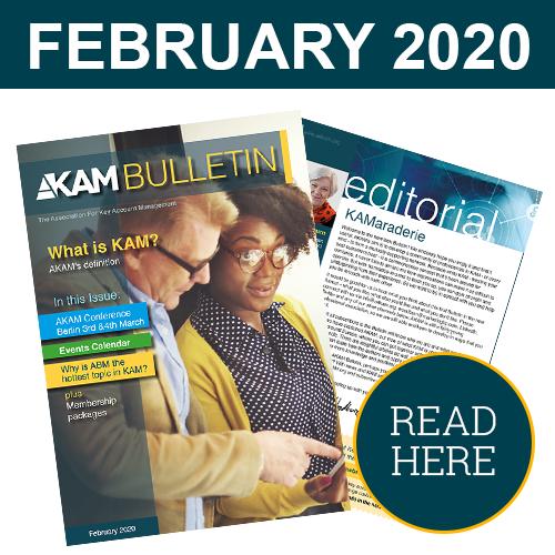 Key Account Management Bulletin February 2020