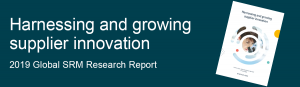 2019 Global Research Report - Harnessing and growing supplier innovation