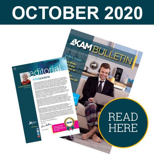 Key Account Management Bulletin October 2020