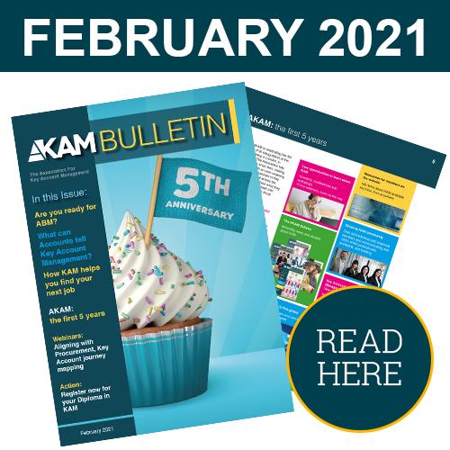 Key Account Management Bulletin February 2021
