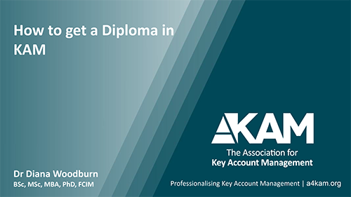 How to gain a Diploma in KAM PowerPoint