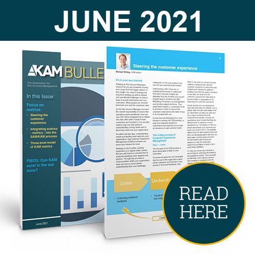 Key Account Management Bulletin June 2021