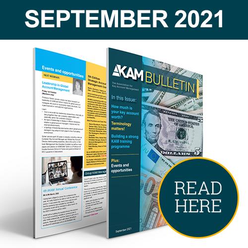 Key Account Management Bulletin September 2021